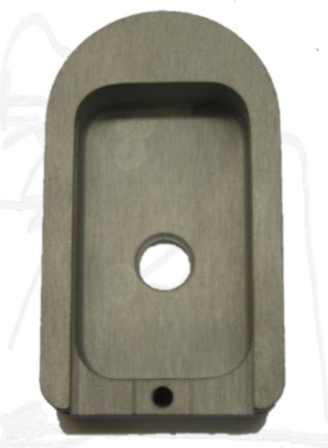 Witness Aluminum Base Pad for Standard Mag Large Frame #102137-0