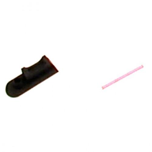 Tanfoglio: XTREME Fiber Optic Front Sight 2.5 x 6 Red Fiber (X022)-0