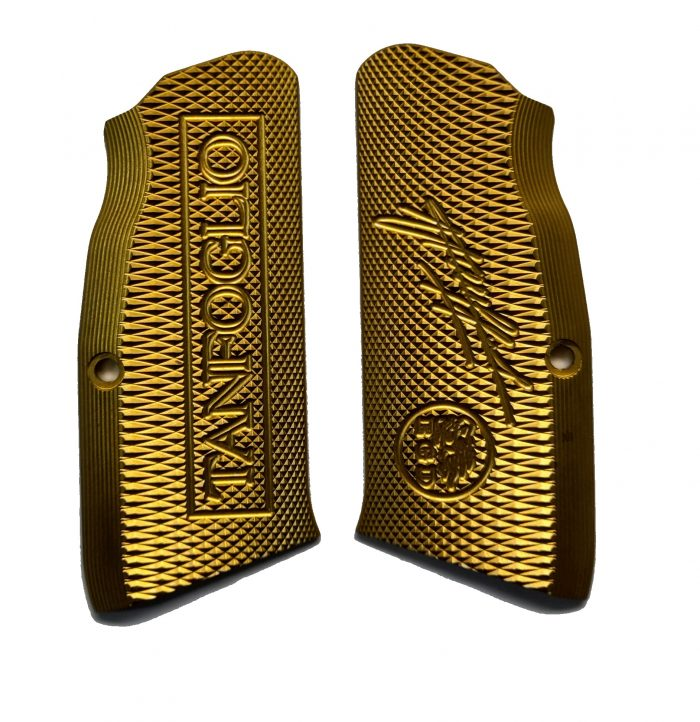 Tanfoglio: XTREME Brass Grips Large Frame (X025)-0