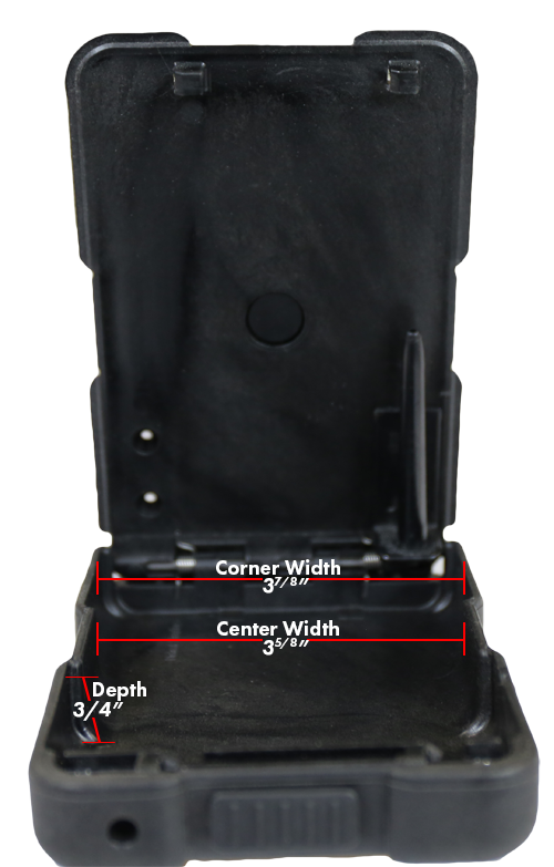 ABDO Concealed Carry Portable Firearm Safe-16966