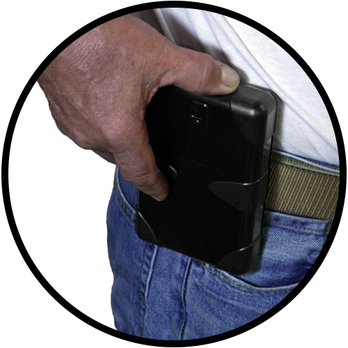 ABDO Concealed Carry Portable Firearm Safe-16958