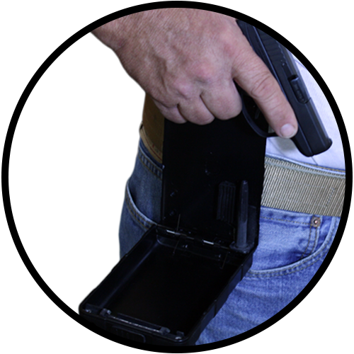 ABDO Concealed Carry Portable Firearm Safe-16957