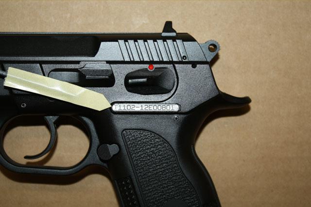 Taurus Firearms Serial Numbers