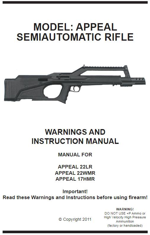 appeal manual