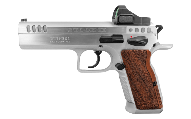 Tanfoglio Stock II With Optic